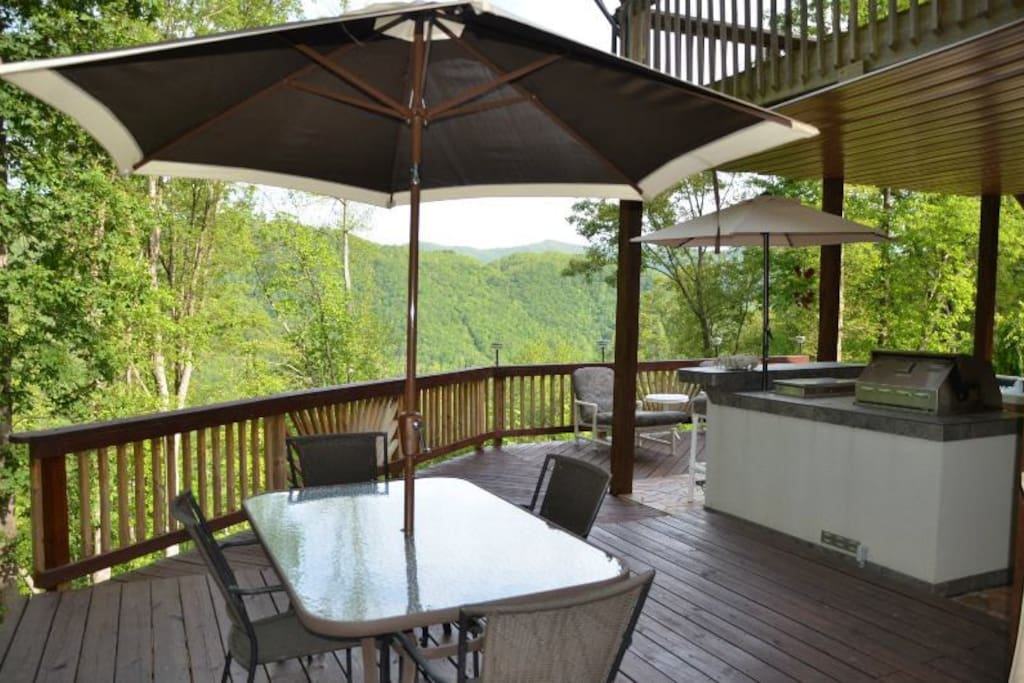 Outdoor Porch off the Bedroom