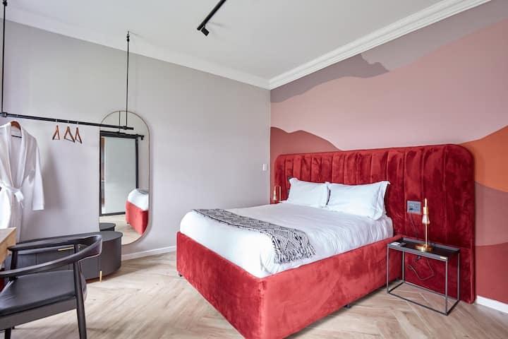 Ethiopia 'inspired' boutique hotel room