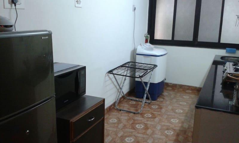 washing machine and cloth drying rack