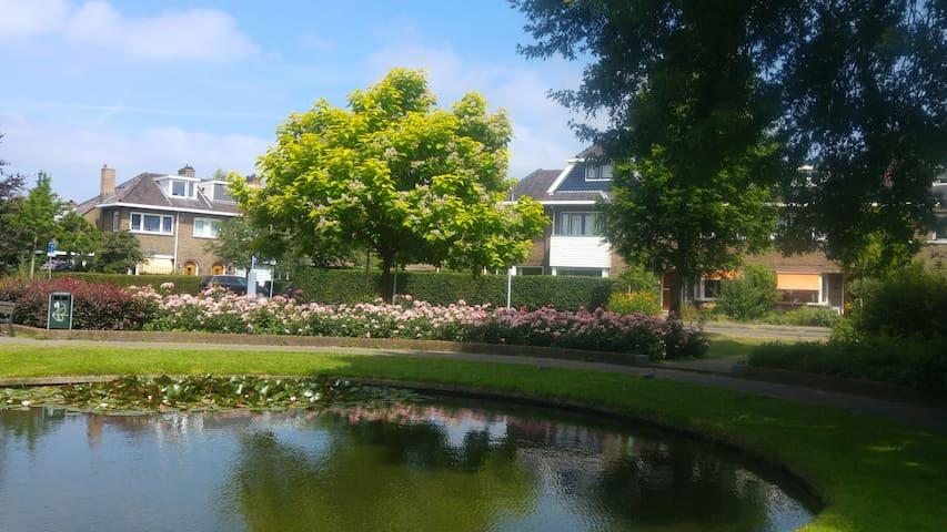 neighbourhood with lots of green. quarter of Utrecht  is called Garden Village