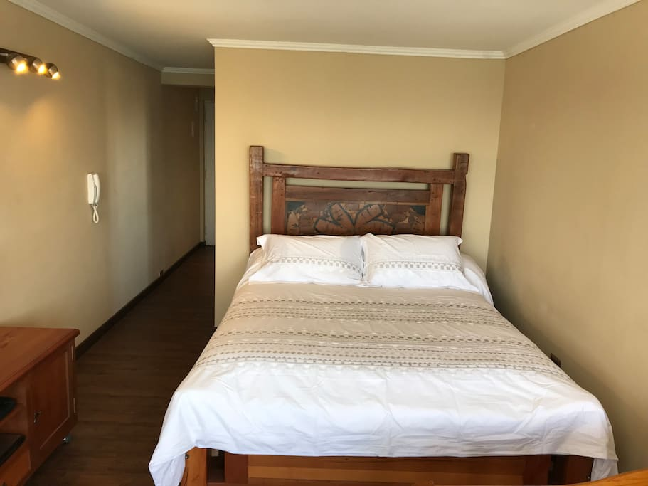 Nueva cama 2 plazas en Roble