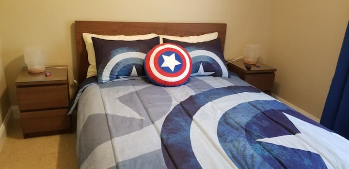 The Avengers Private Room W/ Queen Bed by Disney