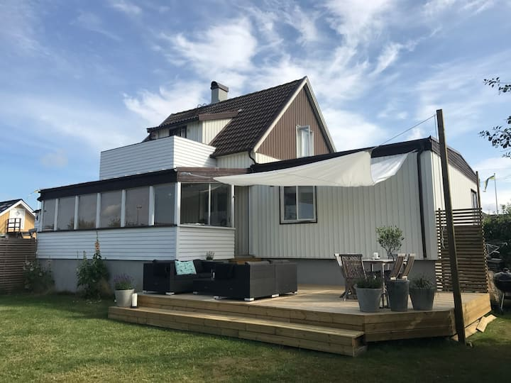 Vacation house at Skrea strand