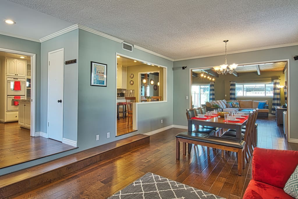Flowing floorplan makes this home feel airyX and open!!!