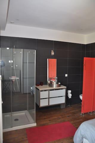 Belle chambre / Lovely Room near Golfe du Morbihan - Arzon - ที่พักพร้อมอาหารเช้า