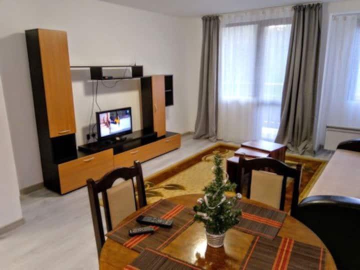 Едностаен апартамент в центъра на Пампорово