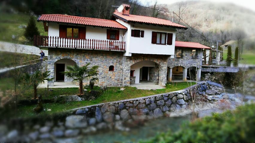 Vila in peacefull surroundings - Kanal - Villa