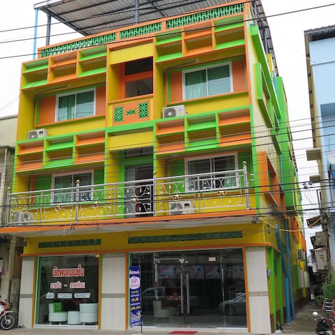Nudpob Mansion DOUBLE BED - Maluan - Apartemen