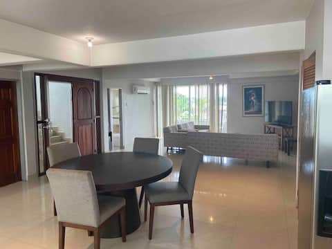 Large 4 bedroom apartment with pool and balcony