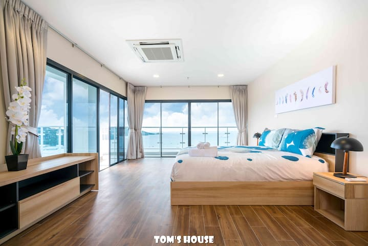 180° Sea View/ 100m to the beach/ Patong Tower/S4b