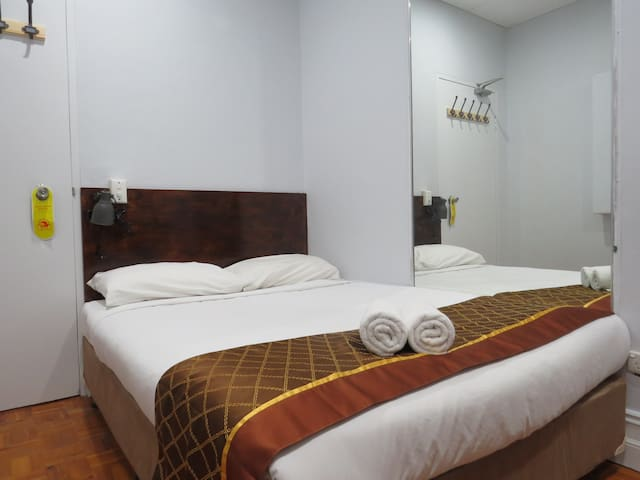 Double room with shared bathroom(non-smoking)