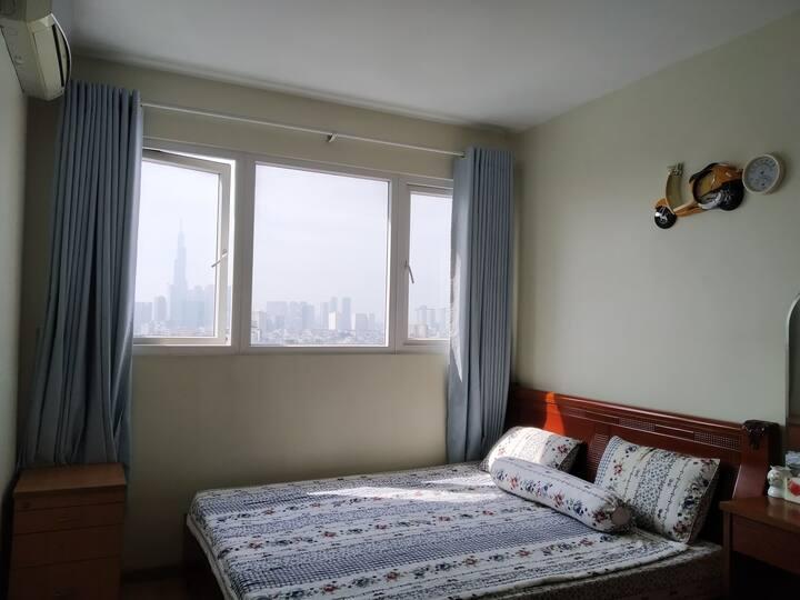 Phòng riêng tại căn hộ- Private room at Binh Thanh