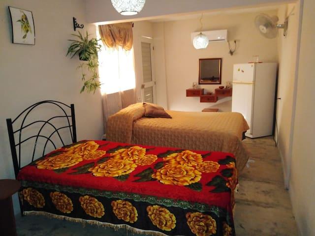 Dormitorio para un buen descanso