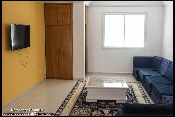 Résidence Bouazizi-Appart N°1 (S+1) - Ghar al Milh - Apartamento