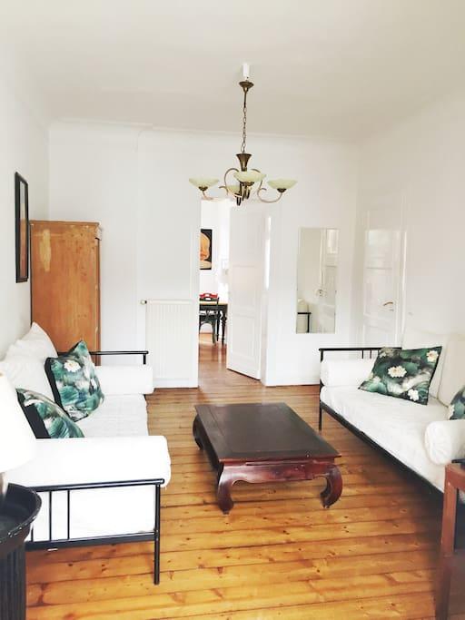 Wohnzimmer (2x Daybed)