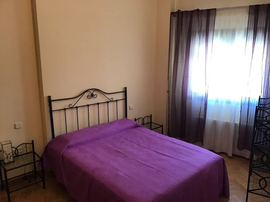 Dormitorio principal, cama de 1,50