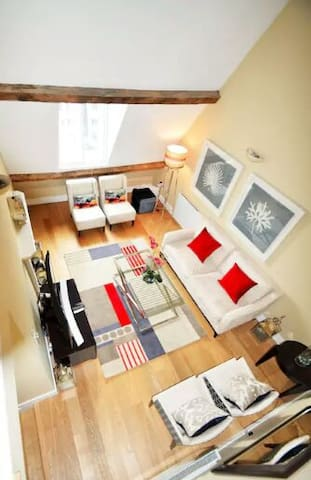 Magnificent Large Room in - Chantilly - Appartement