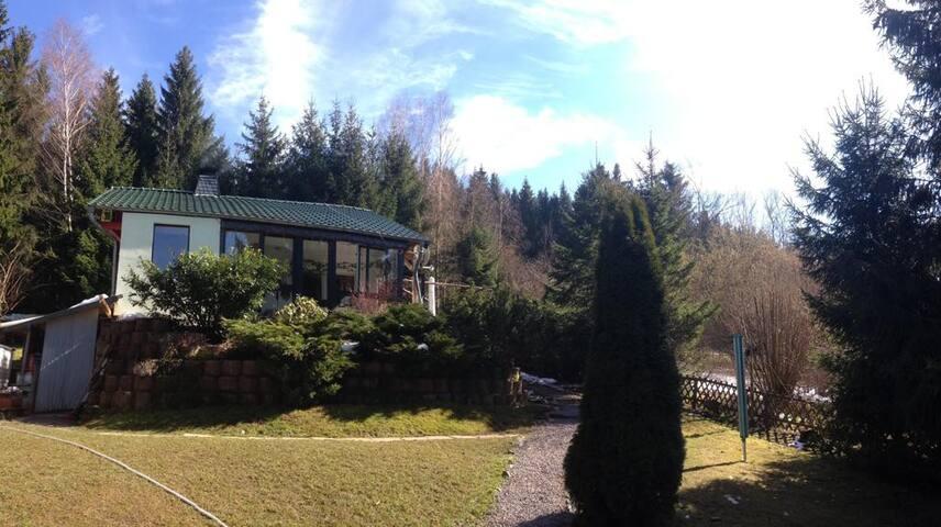 Kleines Haus am Wald
