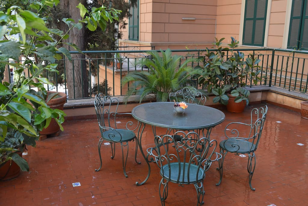 PRIVATE TERRACE 70MQ ONLY FOR OUR GUESTS!