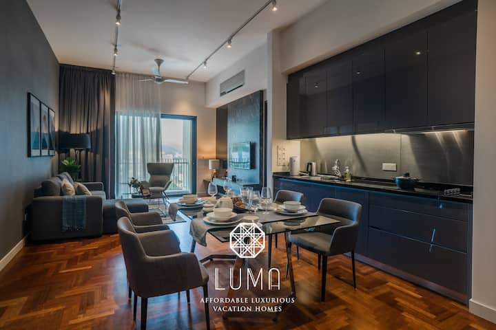 1BR Resort Home | 500M Walk to KLCC | 300mbps WIFI