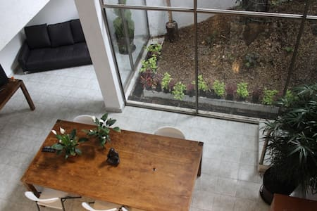Amazing room in great house in Condesa - 墨西哥城(Ciudad de México)