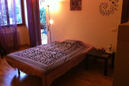 Single room with private bathroom - Roma