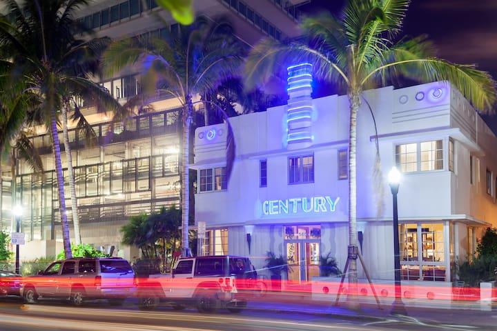 Century Hotel, Miami Beach, Ocean Dr