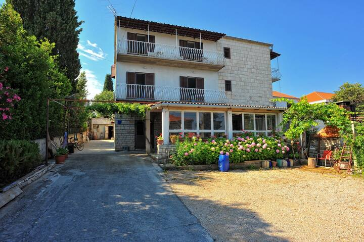 Apartment Mar - 50 m from beach: A2(4+1) Sutivan, Island Brac