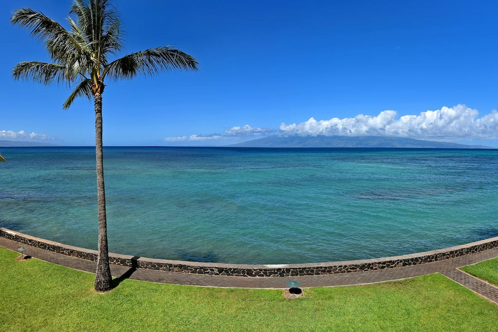 View from main lanai.