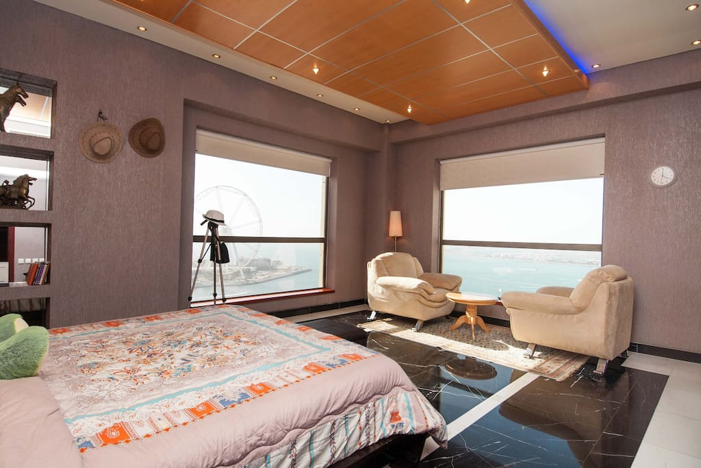 Master Bedroom with full sea view