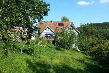 Helle, gemütliche Wohnung mit Balkon - Gersfeld (Rhön) - 度假屋