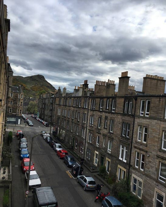 View to Arthur's Seat