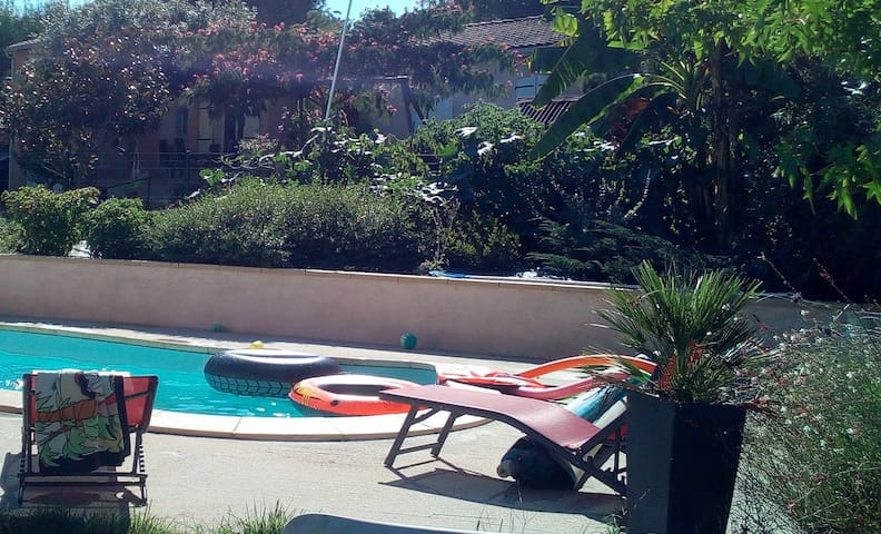 Gîte avec piscine privée
