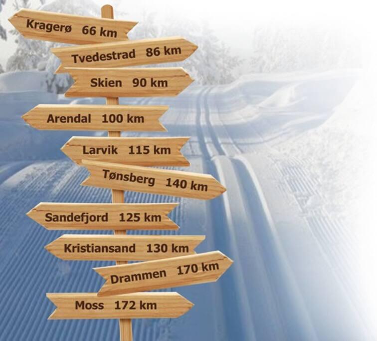 Sentralt beligende i Telemark!
