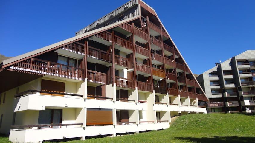 Studio au pied des pistes. - Saint-François-Longchamp - Apartamento