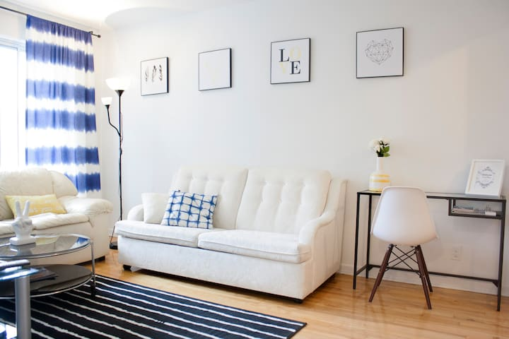 Charming sunny 2 bedroom apartment! - Montréal - Apartemen