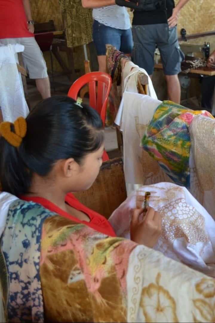 Batik hand made factory