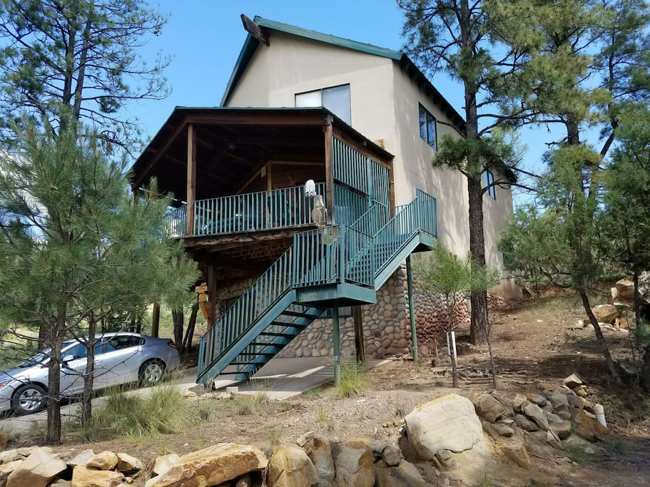 Grindstone lake cabin 1br houses for rent in ruidoso for 6 bedroom cabins in ruidoso nm