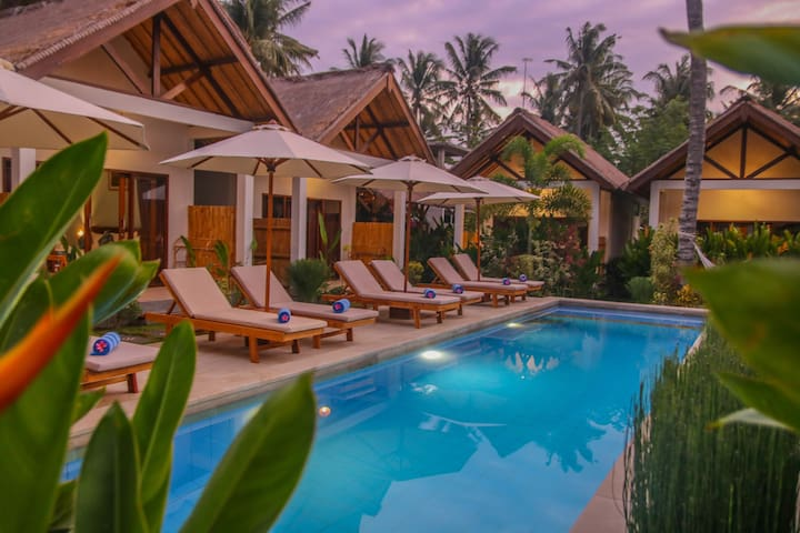 Cozy Cottages Lombok Cozy Twin Room
