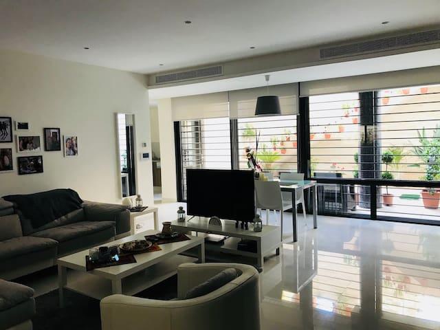 spacious new apartment