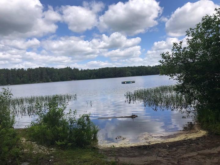 Rustic Lake Front Cabin