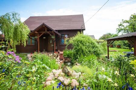 Wiejski domek w Górach Świętokrzyskich