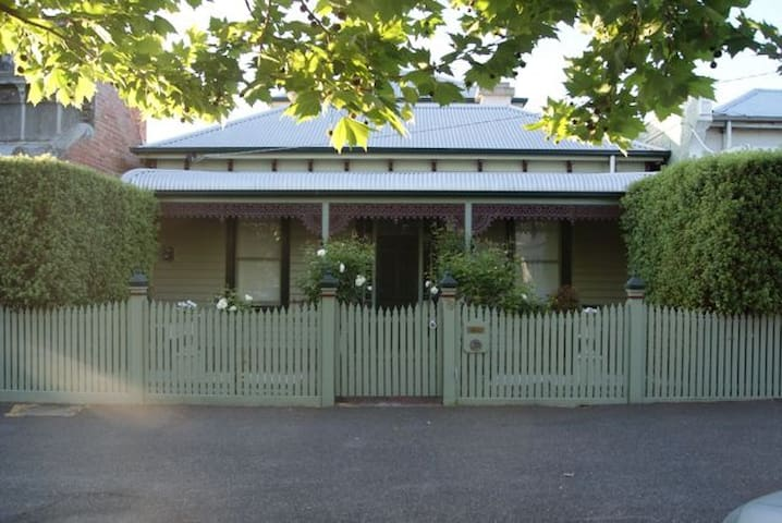 Bedroom and private bath in lovely Fitzroy North