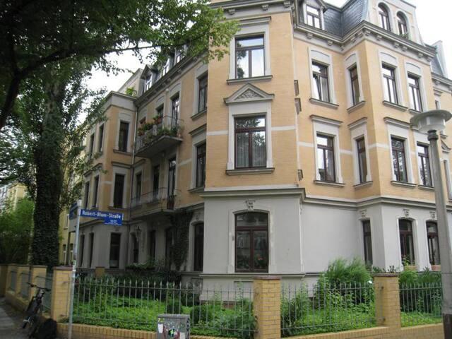 Zimmer im schönen Paulusviertel - Halle (Saale) - Wohnung