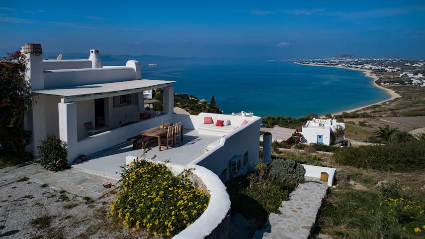 villa mousa apartments naxos orkos
