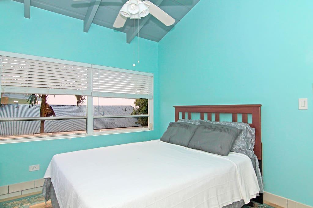 Cloud Cabana kind sized full bedroom Vacation Villa St Thomas USVI