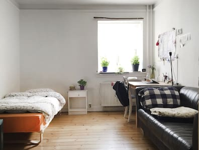 Room for 2 in Nørrebro close to city center - København - Apartment