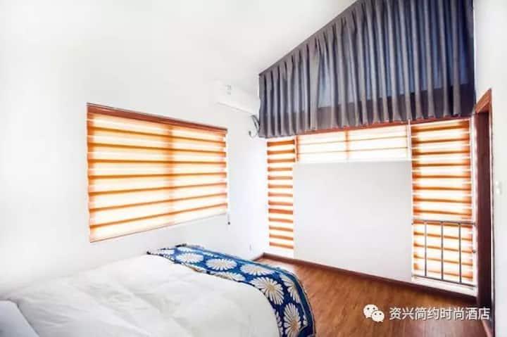 〖简·约】东江湖畔入口 雾漫水绕/精品湖景套房2F