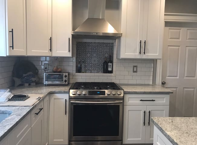 Newly renovated and walking distance to town