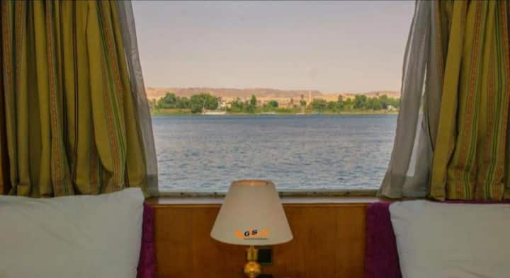 Nile cruise Aswan-Luxor